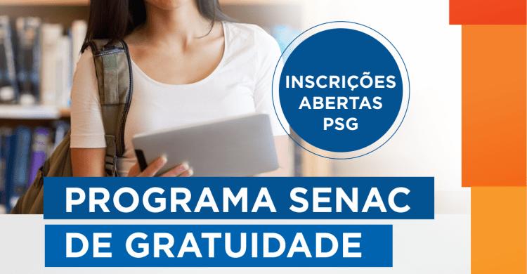 Inscrições Senac PSG 2021