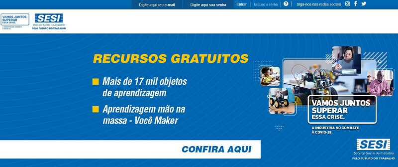Portal Sesi Educação