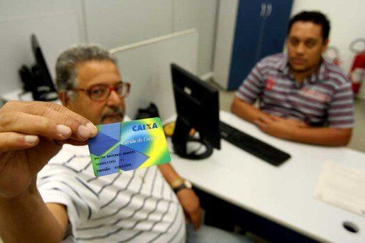 Solicitação do Cartão Cidadão em Agência