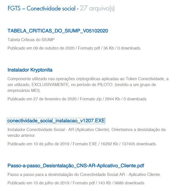 Download Programa Conectividade Social