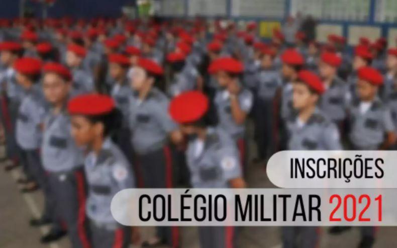 Como fazer a inscrição colégio militar 2021