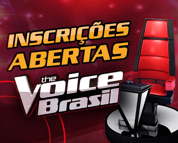 Inscrição The Voice Brasil 2022