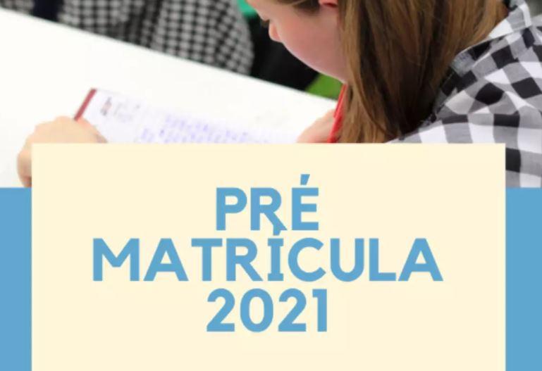 Pré Matrícula 2022